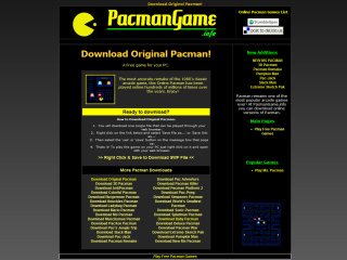 http://www.pacmangame.info