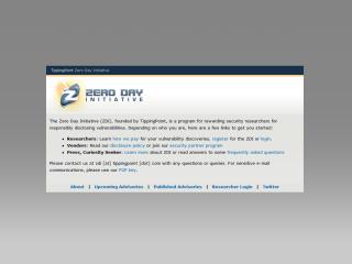 http://www.zerodayinitiative.com